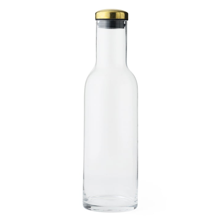New Norm Water Bottle 1 l by Menu with Brass Lid
