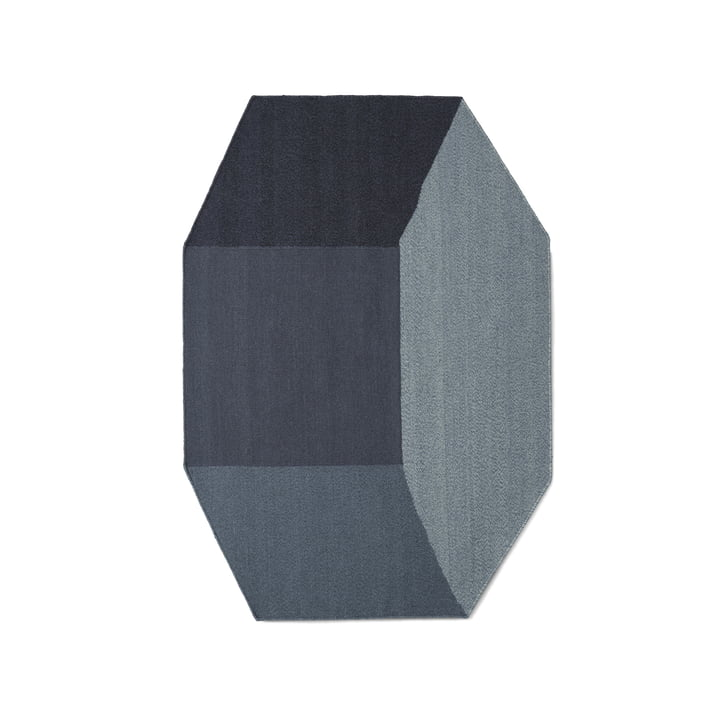 Menu - Willenz Volume Rug small, blue
