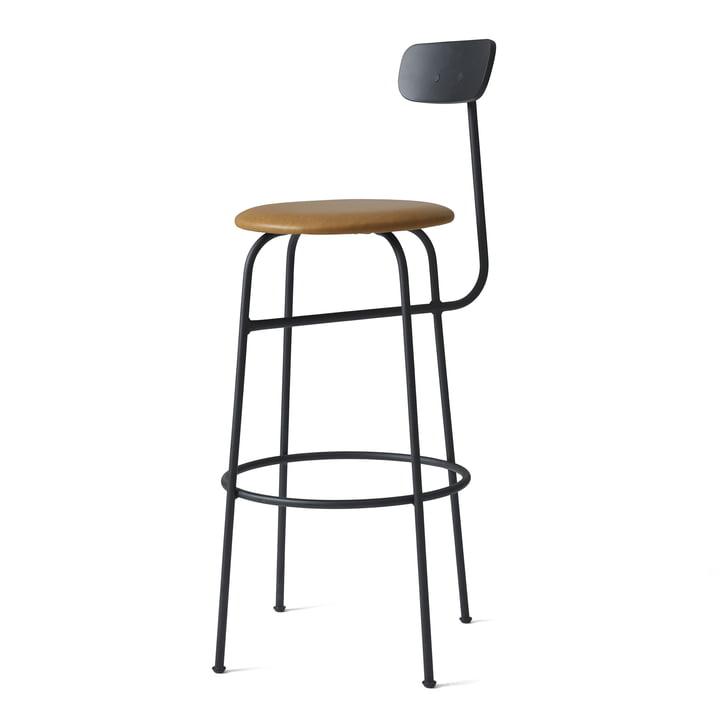 Menu - Afteroom Bar Chair, black / cognac