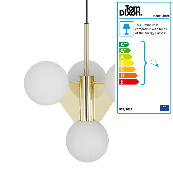 The Tom Dixon - Plane Short Chandelier