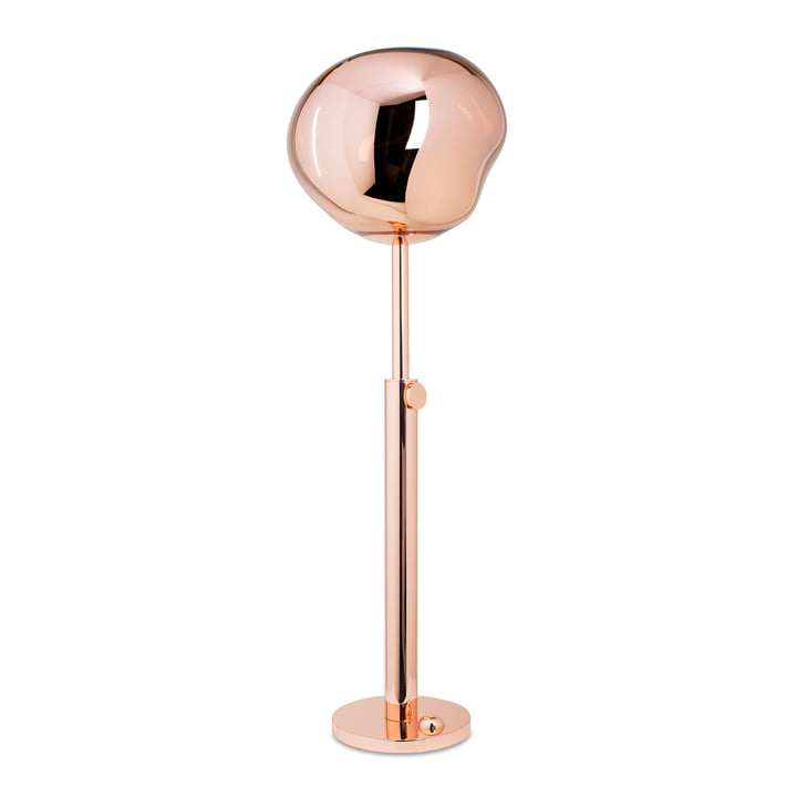 The Tom Dixon - Melt Floor Lamp in copper