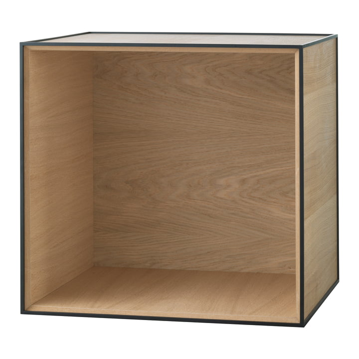 Frame wall cupboard 49 by by Lassen in oak