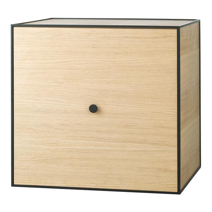 Frame wall cupboard 49 (incl. door) by Lassen made of oak