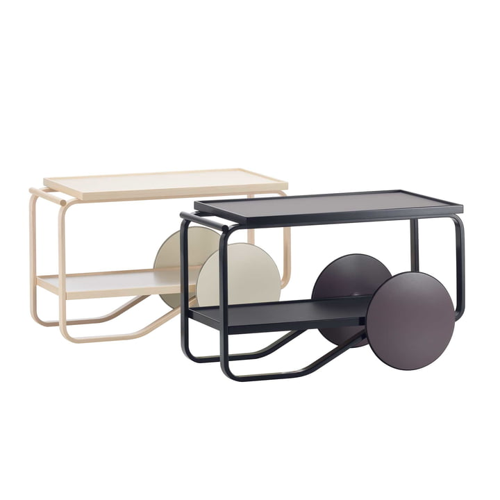 Tea Trolley by Artek in various Variants