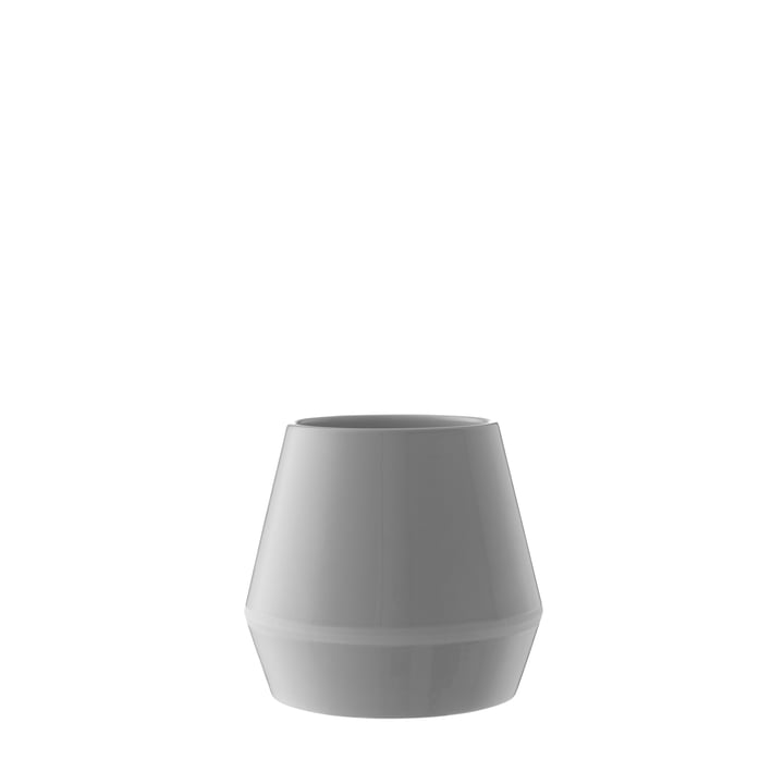 by Lassen - Rimm Vase small, cool grey