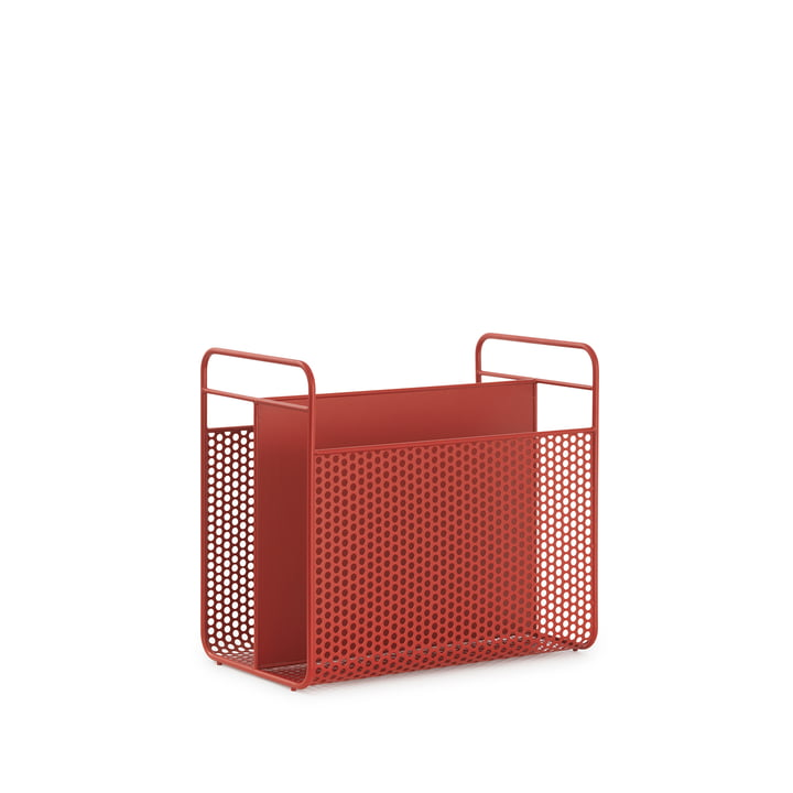 Analog Magazine Holder by Normann Copenhagen in Red