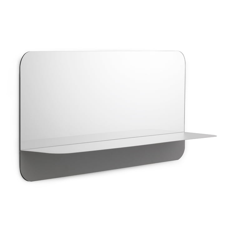 Horizon Mirror horizontal by Normann Copenhagen in Grey
