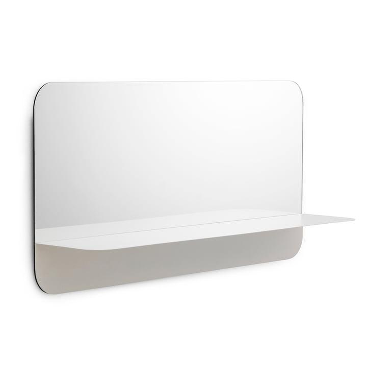 Horizon Mirror horizontal by Normann Copenhagen in White