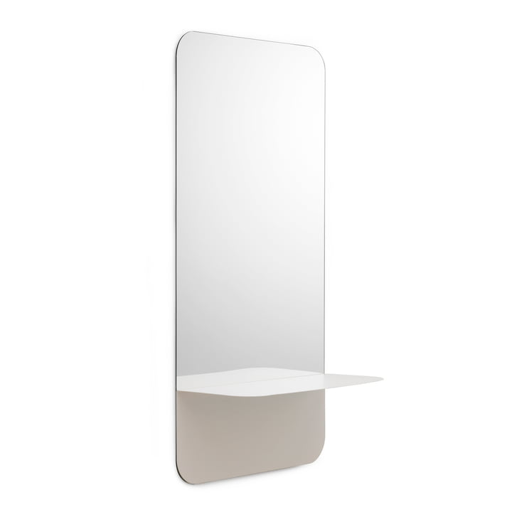 Horizon Mirror vertical by Normann Copenhagen in White