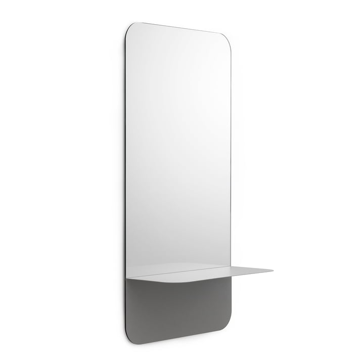 Horizon Mirror vertical by Normann Copenhagen in Grey