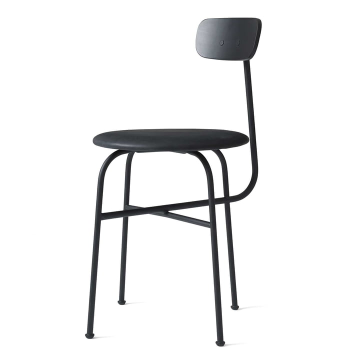 Afteroom Dining Chair 4 from Menu in black / Leather black