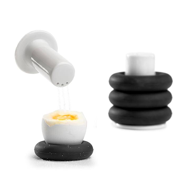 Egg Cup by Zone Denmark in Black