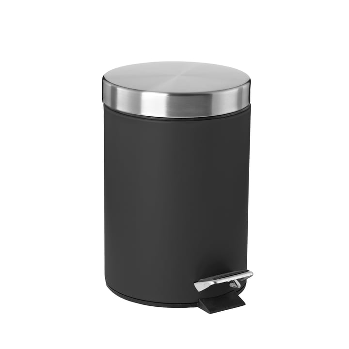 Pedal Bin 3 L by Zone Denmark in Black