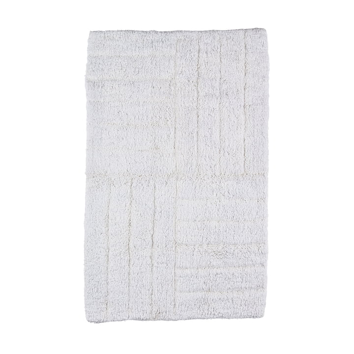 Bath Mat 80 x 50 cm from Zone Denmark in White