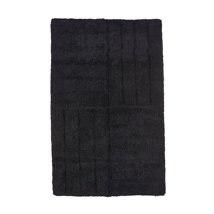 Bath Mat 80 x 50 cm by Zone Denmark in Black