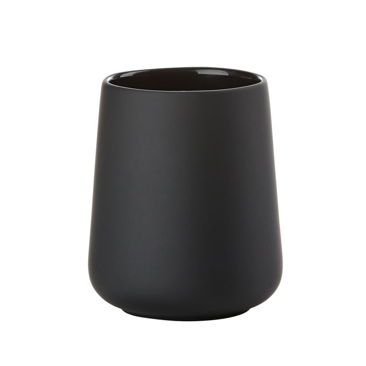 Nova One Toothbrush Holder by Zone Denmark in Black