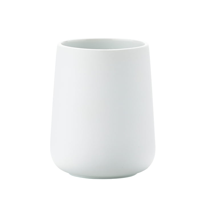 Nova toothbrush tumbler by Zone Denmark in white