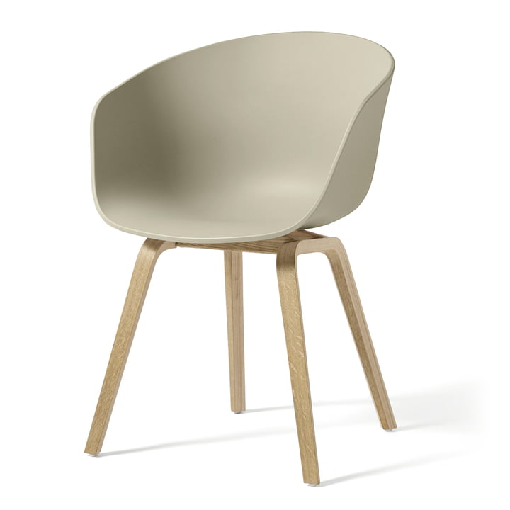 About A Chair AAC 22 from Hay in oak soaped / pastel green