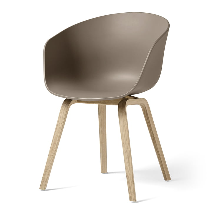 About A Chair AAC 22 from Hay in oak matt lacquered / khaki