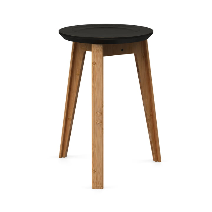 buy the button stool by we do wood connox. Black Bedroom Furniture Sets. Home Design Ideas