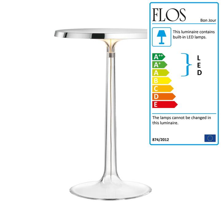 Flos - Bon Jour Table Lamp, chrome