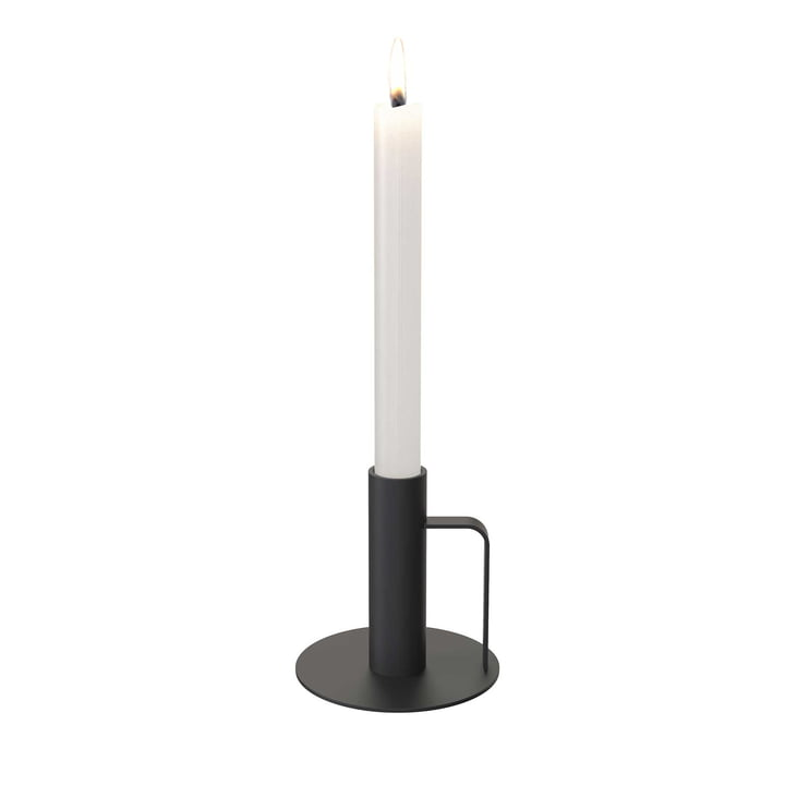 Frost - Candle Holder, 100 x 100, black