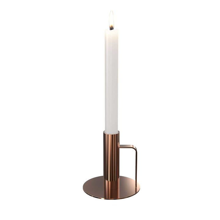 Frost - Candle Holder, 100 x 100, copper