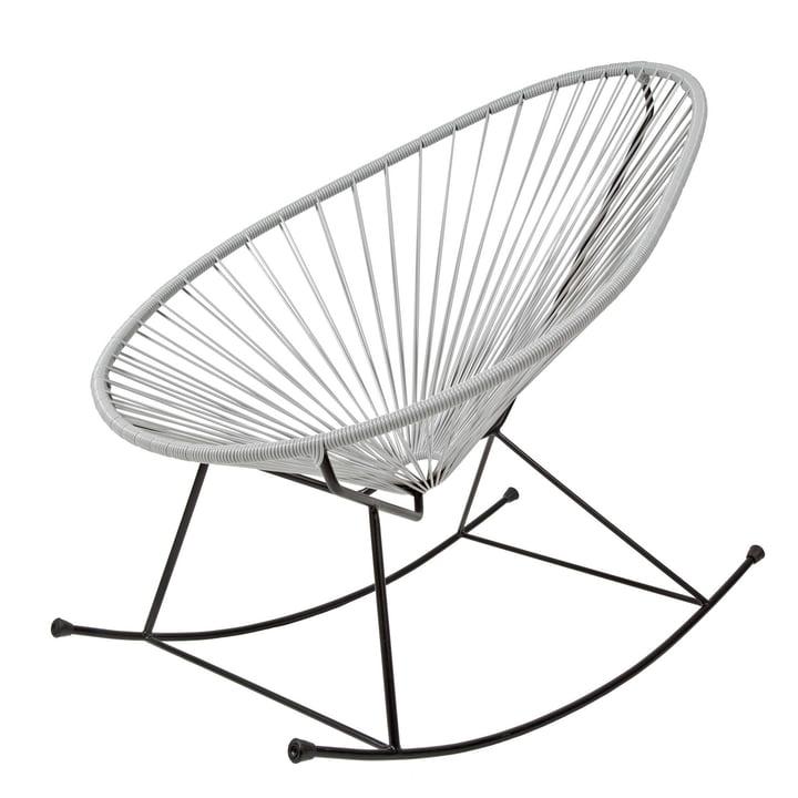 Acapulco design acapulco chair rocking grau for Schaukelstuhl grau