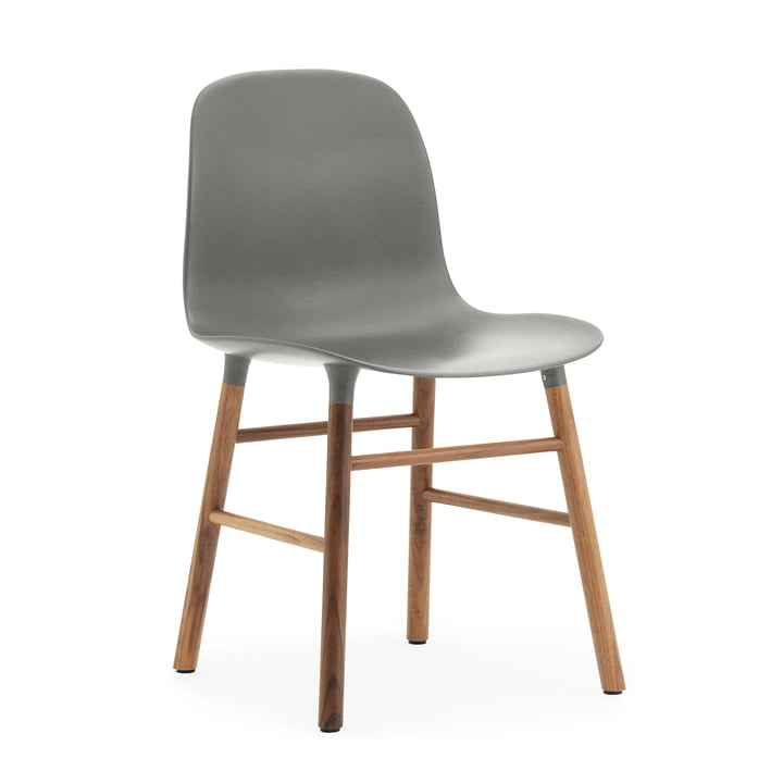 Normann Copenhagen - Form Chair, Wood Legs, oak / grey