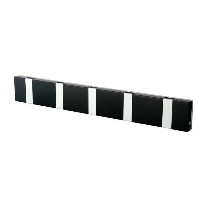 LoCa - Knax Lite 5 Cloak Rail, black