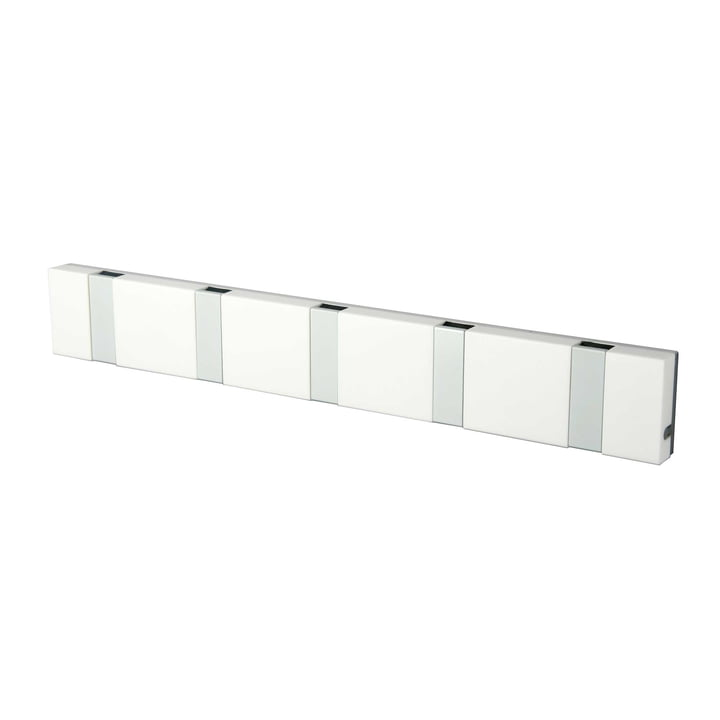 LoCa - Knax Lite 5 Cloak Rail, white