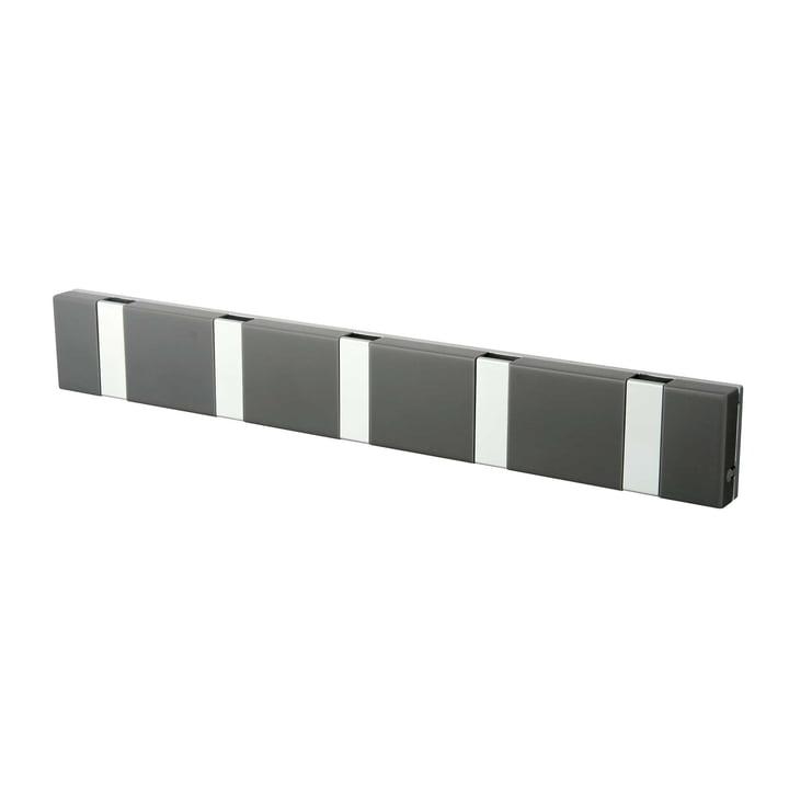LoCa - Knax Lite 5 Cloak Rail, grey