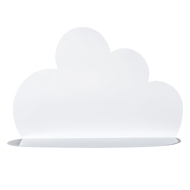 Large Cloud Shelf by Bloomingville in white