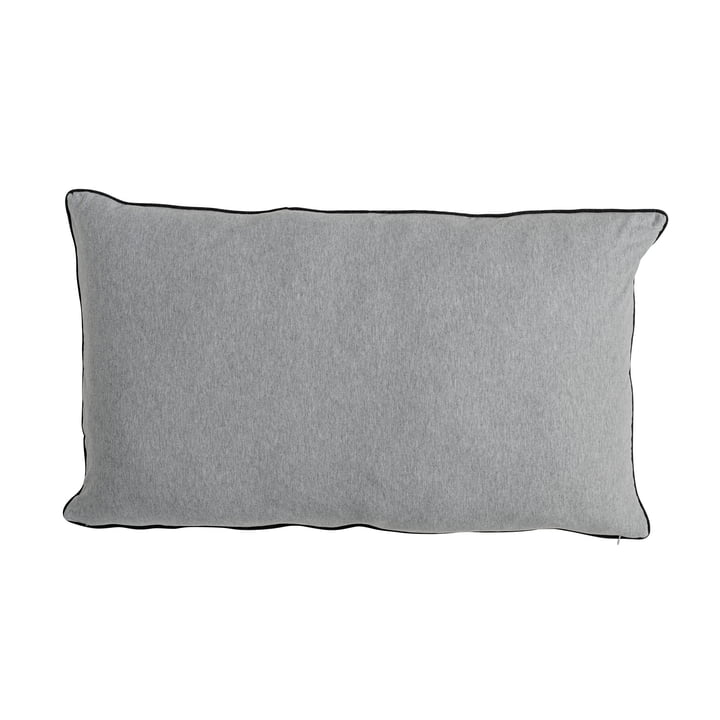 The Bloomingville - Jersey Cushion 90 x 50 cm in light grey