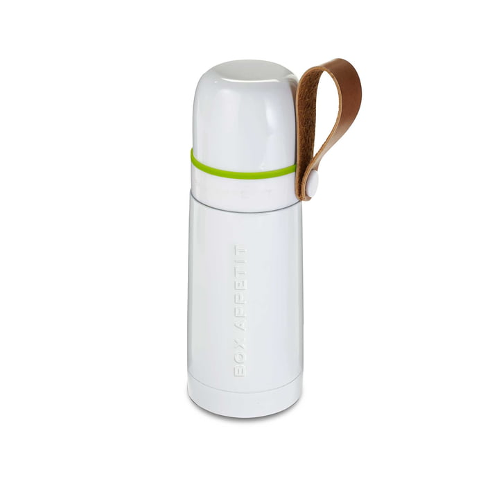 Box Appetit Thermo Flask by Black + Blum in White