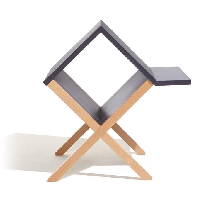 Müller Möbelwerkstätten - Book Table, black