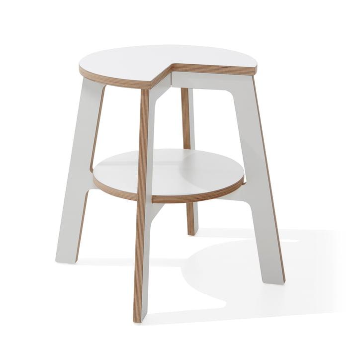Müller Möbelwerkstätten - Walker Stepstool, white