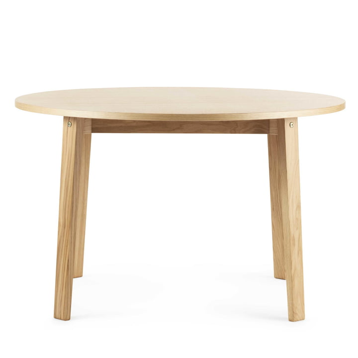 Normann Copenhagen - Slice Table Wood Ø 120 cm, oak