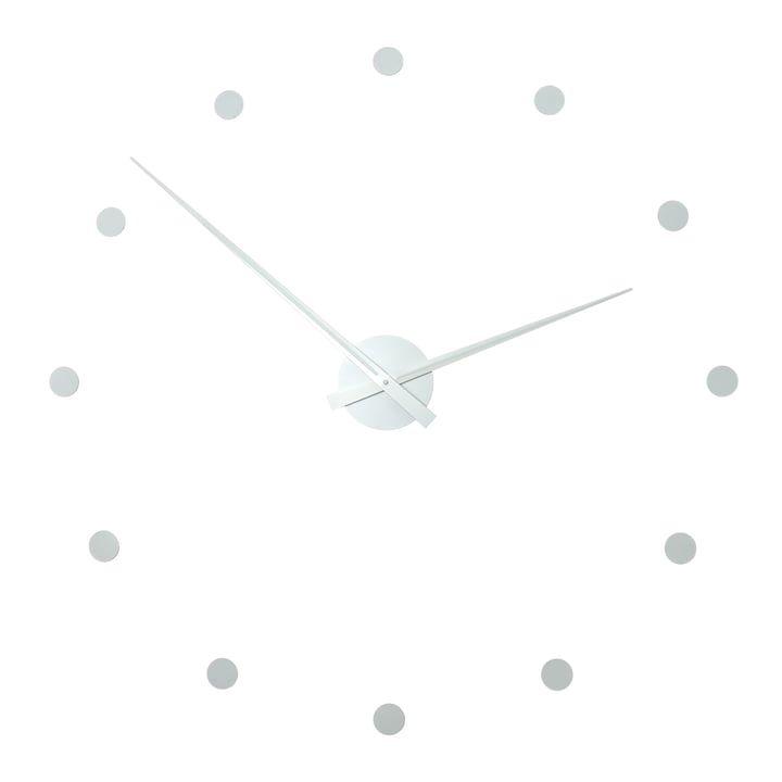 Radius Design - Flexible wall clock, white