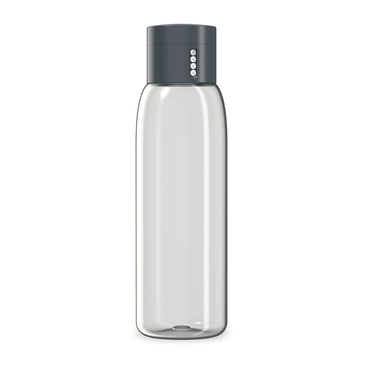 Dot Water Bottle by Joseph Joseph in Grey