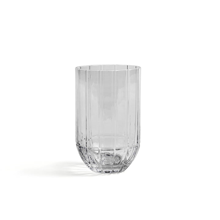 Hay - Colour Vase Glass vase, M, transparent