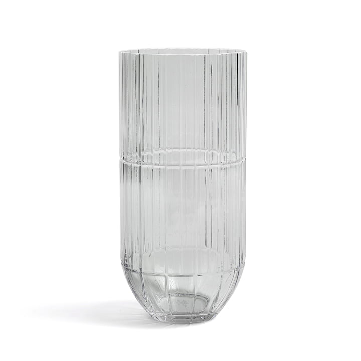 Hay - Colour Vase glass vase, XL, transparent