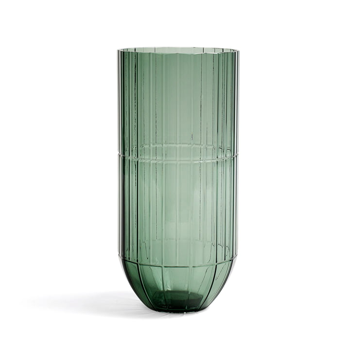 Hay - Colour Vase glass vase, XL, green