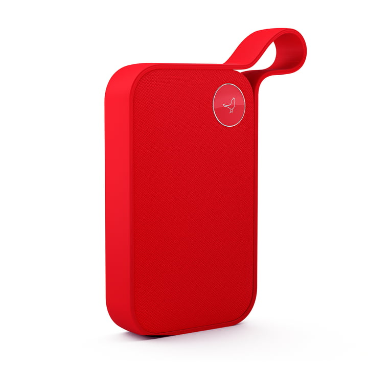 The Libratone - One Style Bluetooth Speaker in Cerise Red