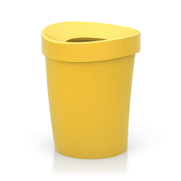 Happy Bin, Large by Vitra in Yellow