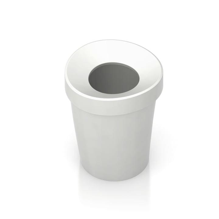 Happy Bin, small by Vitra in white