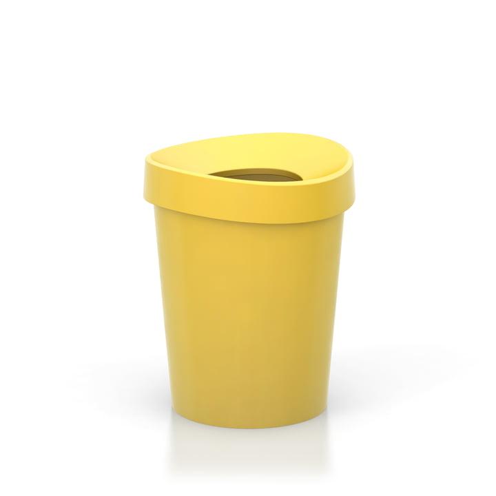 Happy Bin, Small by Vitra in Yellow