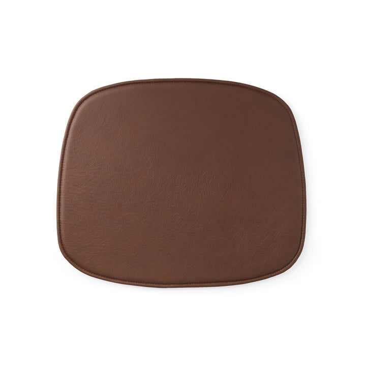 Seat Cushion for Form Chair by Normann Copenhagen in Leather Brandy