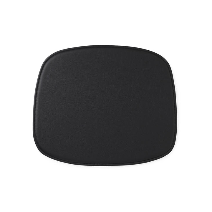 Seat Cushion for Form Chair by Normann Copenhagen in Leather Black