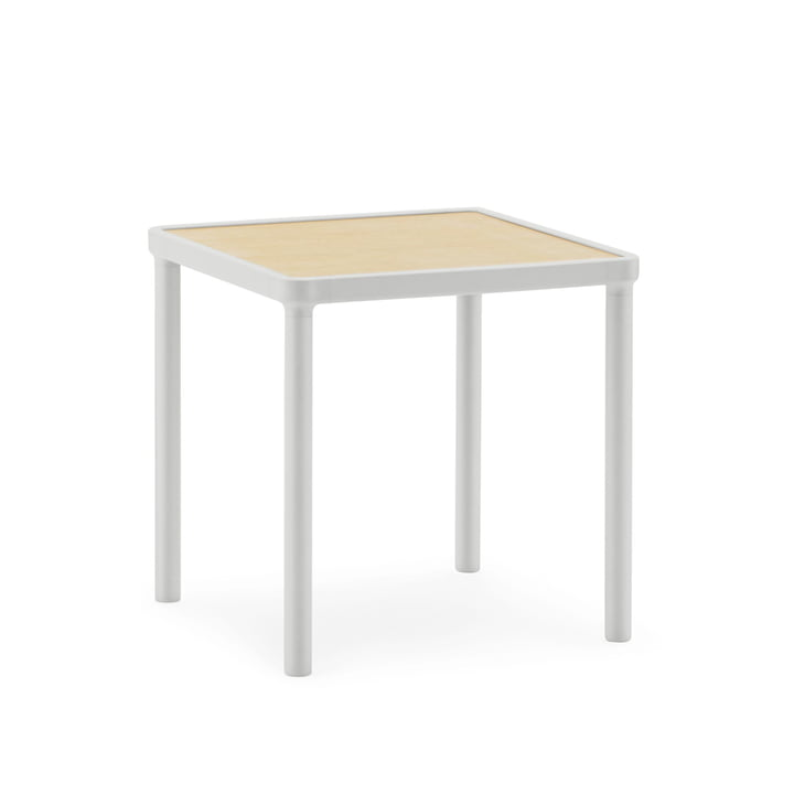 Case Coffee Table 40 x 40 cm by Normann Copenhagen in Light Grey